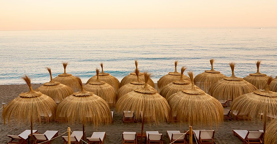 The Best Beach Day in Marbella | Sun & Cabana Beds on the Beach