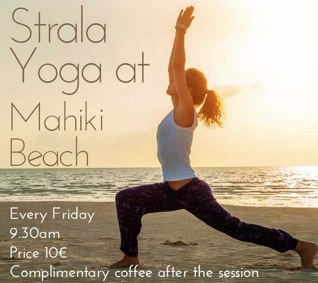 Yoga on the beach in Marbella