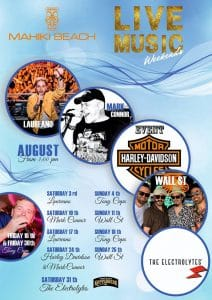 Music in Marbella at Mahiki Beach
